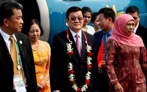 Thời sự đêm ngày 21/4/2015: Các hoạt động của Chủ tịch nước Trương Tấn Sang trong khuôn khổ Hội nghị cấp cao Á-Phi diễn ra tại Indonesia