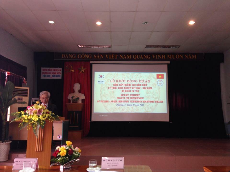 Hàn Quốc khởi động dự án nâng cấp trường Cao đẳng Nghề Kỹ thuật Công nghiệp Việt - Hàn